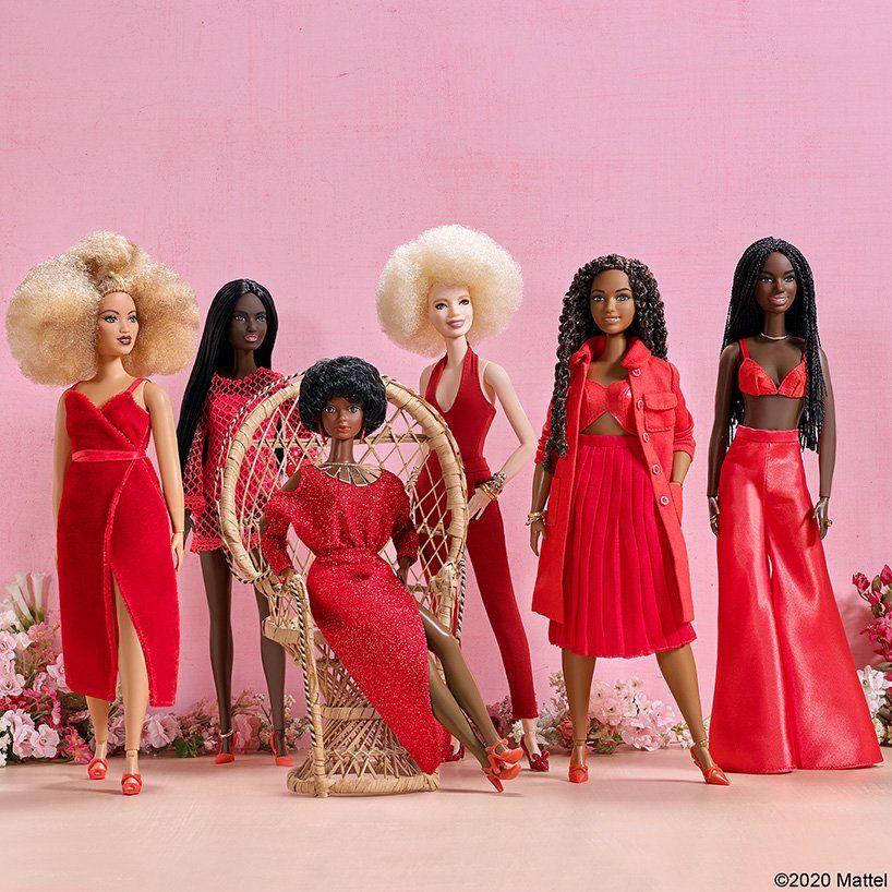 Photo of barbie collaborates with stylist shiona turini to celebrate black beauty