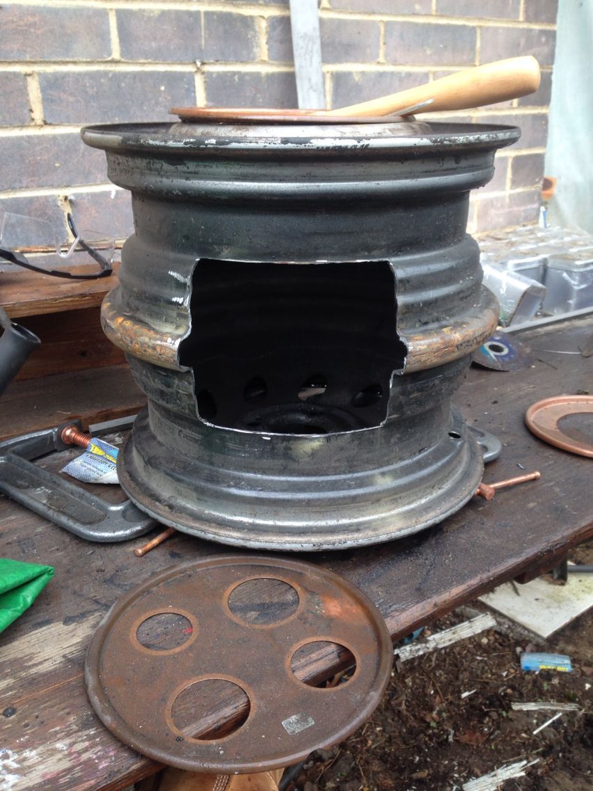 These Are The Wheel Rim Stoves I Make And Sell Every Ine Talks About Them Who Wants One Message Me ファイヤーピット ピット