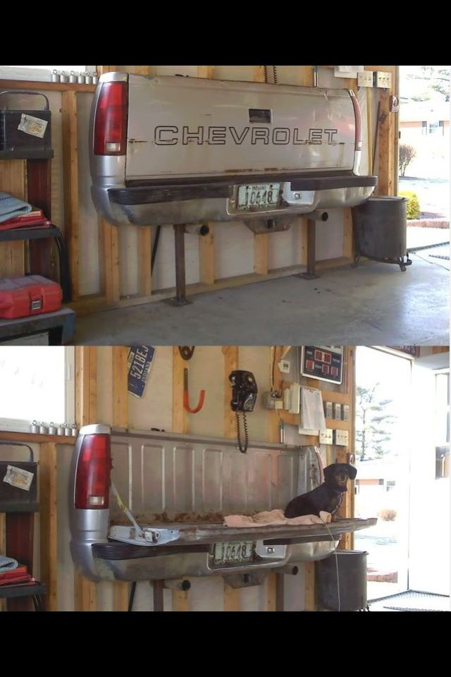 Tailgate bench DIY . Absolutely love this idea