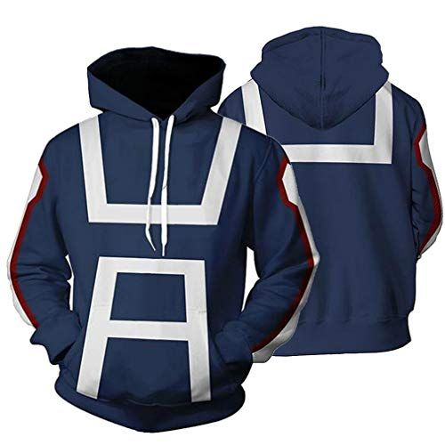 Amyli My Hero Academia BNHA Izuku Midoriya All Might Todoroki Shoto Hoodies Cosplay