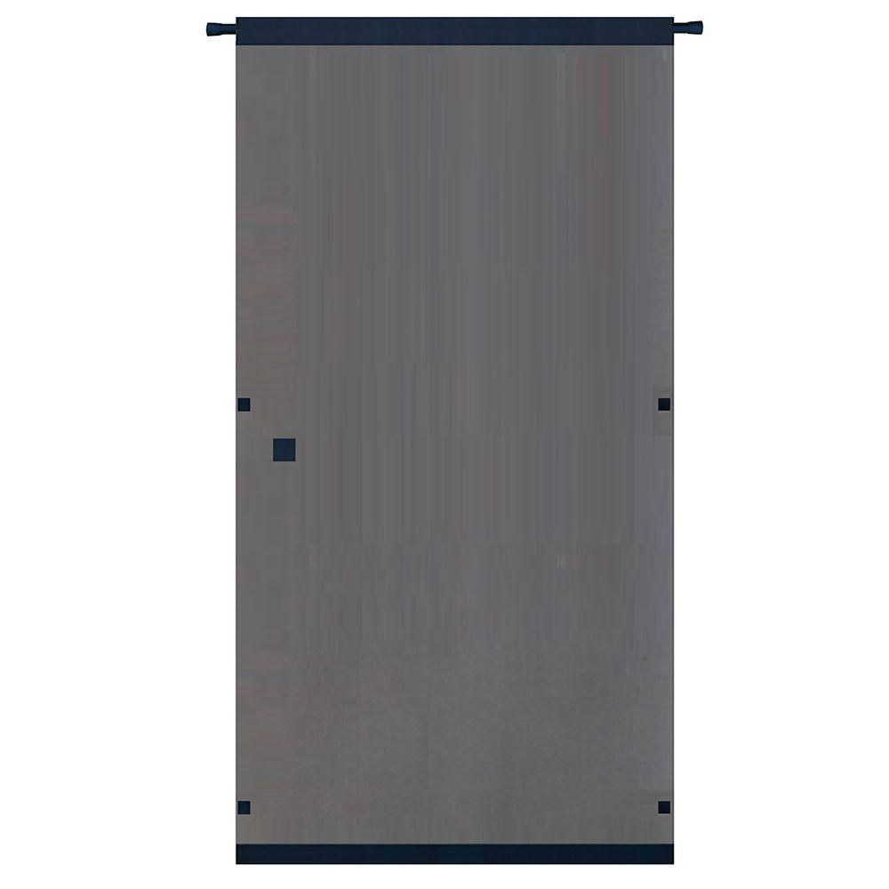 Snavely Forest 38 In X 80 In Black Easy To Install Instant Screen Door With Hardware Included Ds83937 Retractable Screen Door Screen Door Instant Screen Door