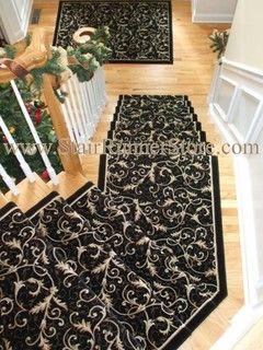 Gentil Angled Landing Stair Runner   Traditional   New York   By The Stair Runner  Store   Creative Carpet U0026 Rug LLC