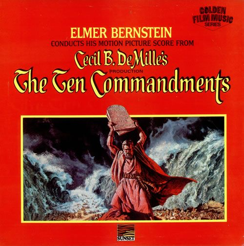 Elmer Bernstein The Ten Commandments Uk Vinyl Lp Album Lp Record 476842 Elmer Bernstein Lp Albums Command