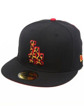 dee85bb0367ae Los Angeles Dodgers Leopard Print Logo Custom 5950 fitted hat (Drjays.com  Exclusive) by New Era