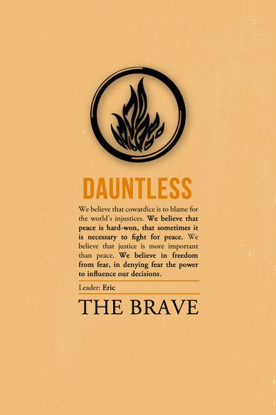 dauntless in a sentence