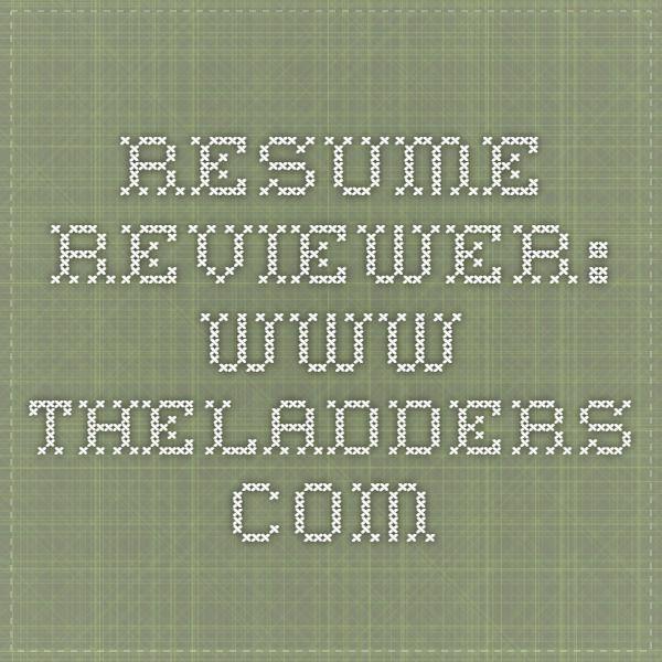 Resume Reviewer Future Business Pinterest Resume, Free resume