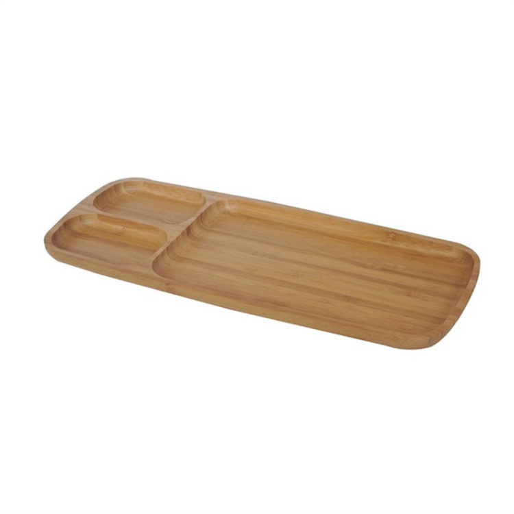 3 Part Entertainment Breakfast Bamboo Wooded Food Serving Tray Buy Wooded Food Serving Tray Bamboo Serving Bamboo Dishes Food Serving Trays Serving Tray Wood