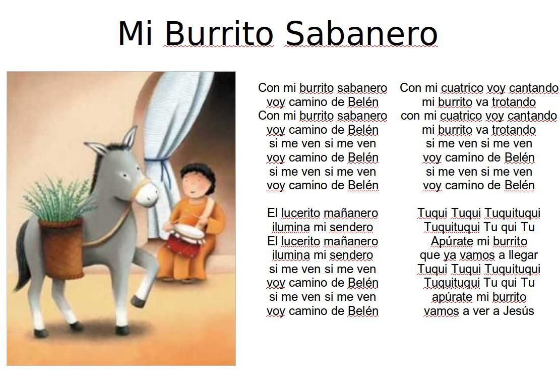 17 Burrito Sabanero Ideas How To Speak Spanish Elementary Spanish Spanish Songs