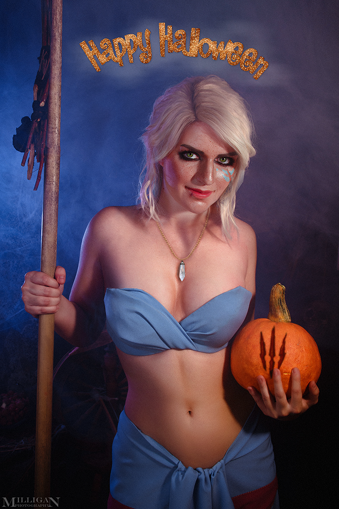 The Witcher - Halloween Ciri by MilliganVick