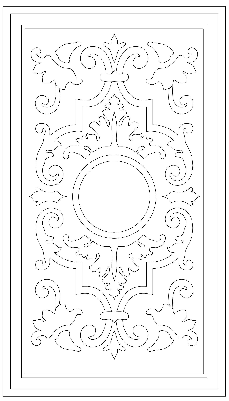 CALADO | diseño | Pinterest | Repujado, Patrones y Bordado