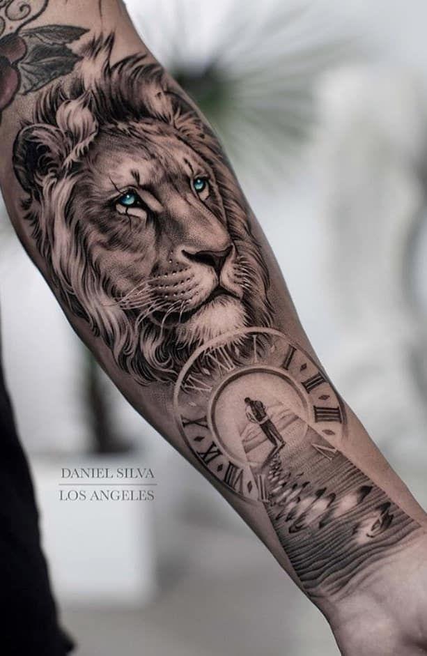 Elegir El Diseno P N T Tatuaje Not Any Siempre Es Lo Mas Sencillo You Qui Debes Tatuajes De Cabeza De Leon Tatuajes De Leones En El Antebrazo Tatuajes De Leon