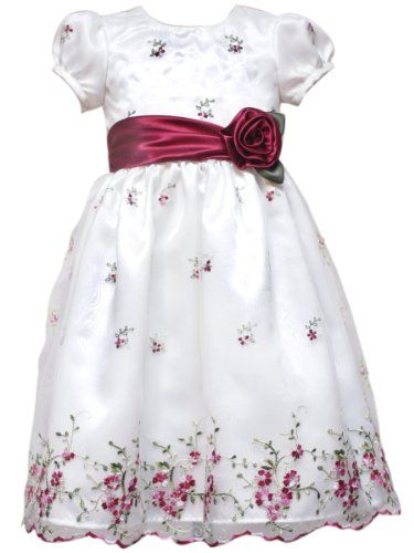 Rare Editions Girls 2-6X Embroidered Dress $24.63