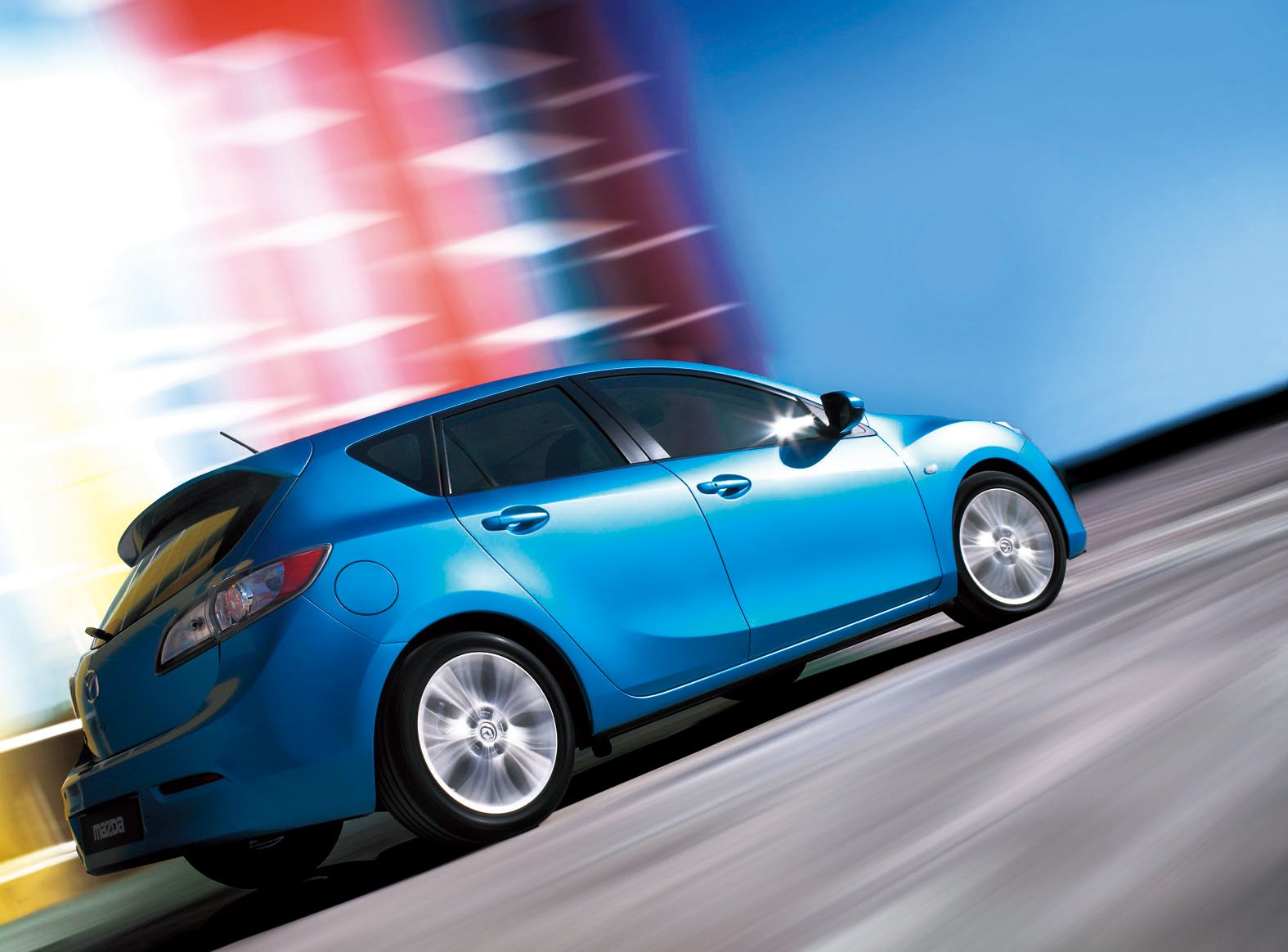 mazda 3 sky blue I love this color Bad credit car loan