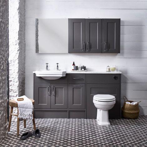 Burford Mercury Fitted Bathroom Furniture Roper Rhodes Fitted Bathroom Fitted Bathroom Furniture Traditional Bathroom