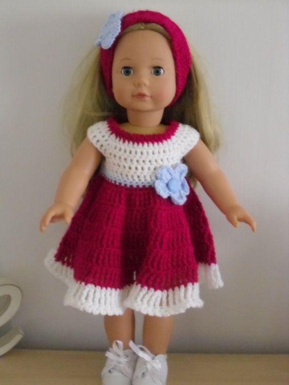 PDF Crochet pattern for 18 inch doll American Girl Doll or | aaroo ...
