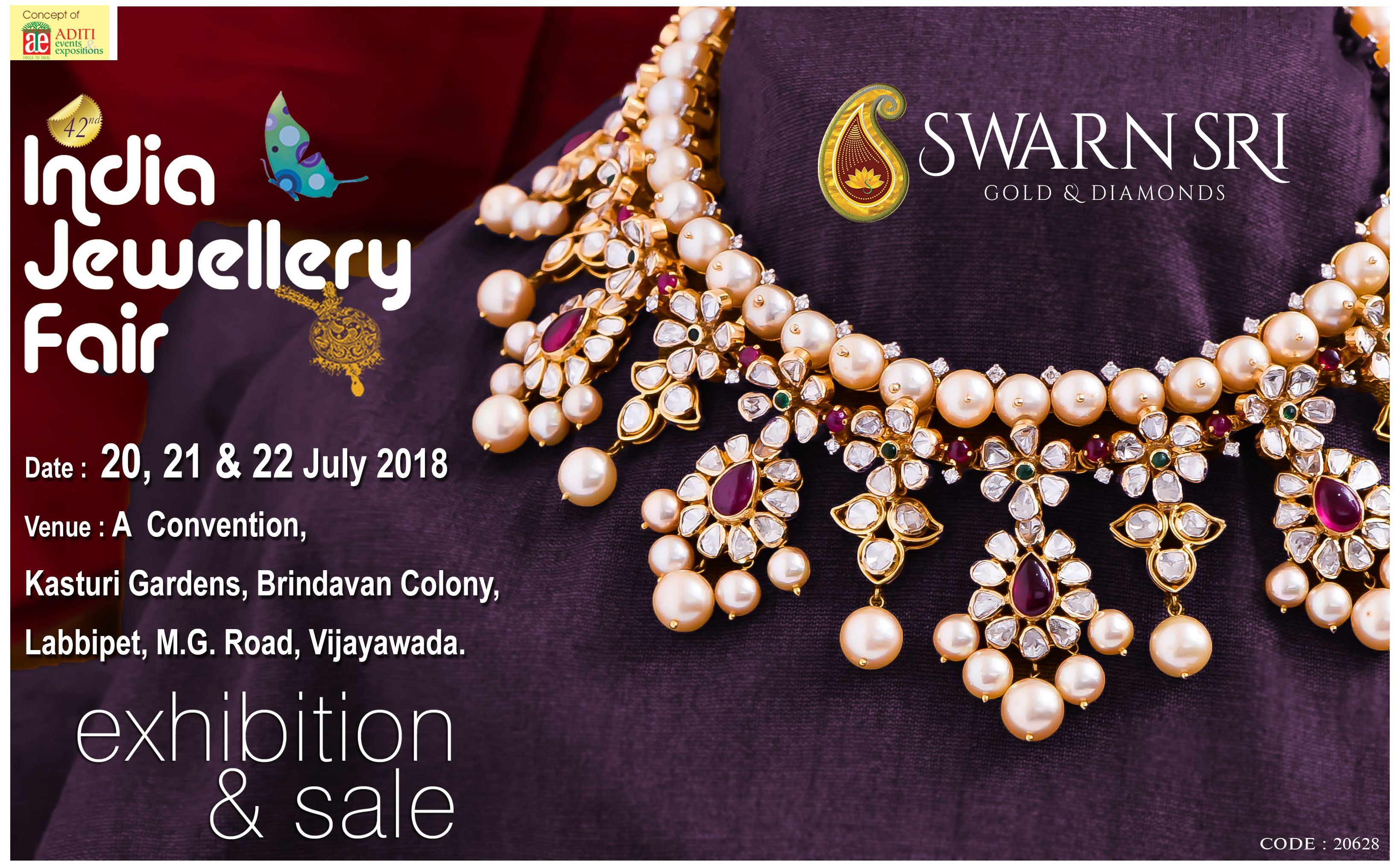 Two Days To Go For 42nd India Jewellery Fair Exhibition Sale