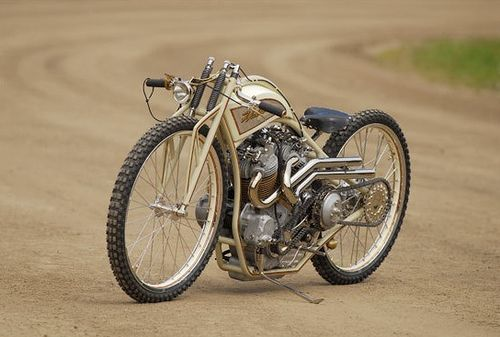 The frame tubing was so tiny on original board track bikes. Why do ...