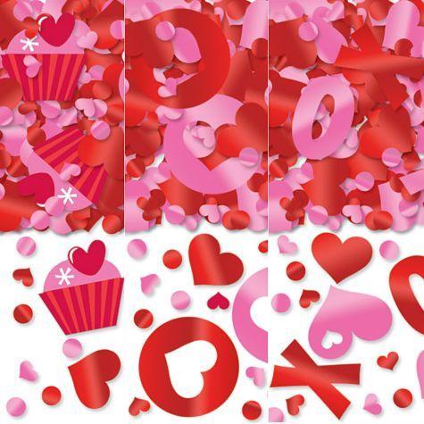 valentines day confetti 1 18oz party city