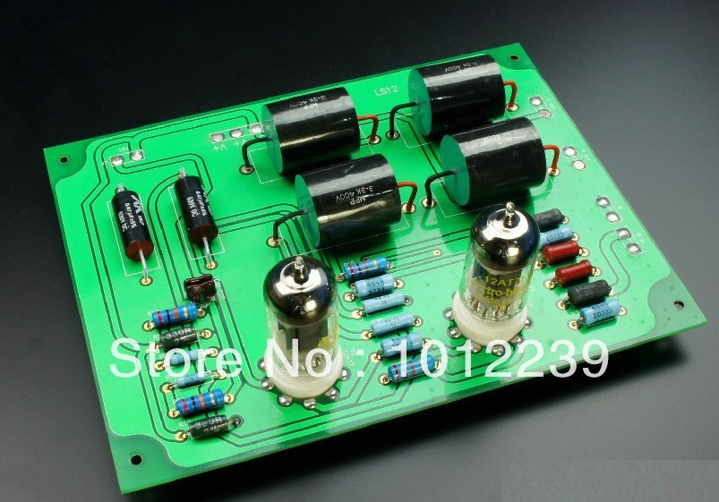 61.75$  Watch here - http://aliwrs.worldwells.pw/go.php?t=1498373857 - Assembled LS12 MATTSSE ATOM tube preamp finished board 61.75$