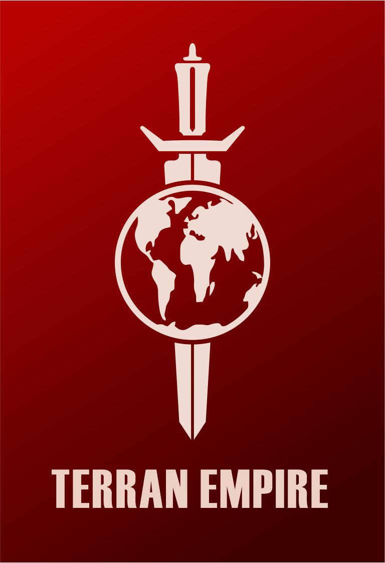 Star Trek Terran Empire Mirror Universe Logo Flat Design Trekkie