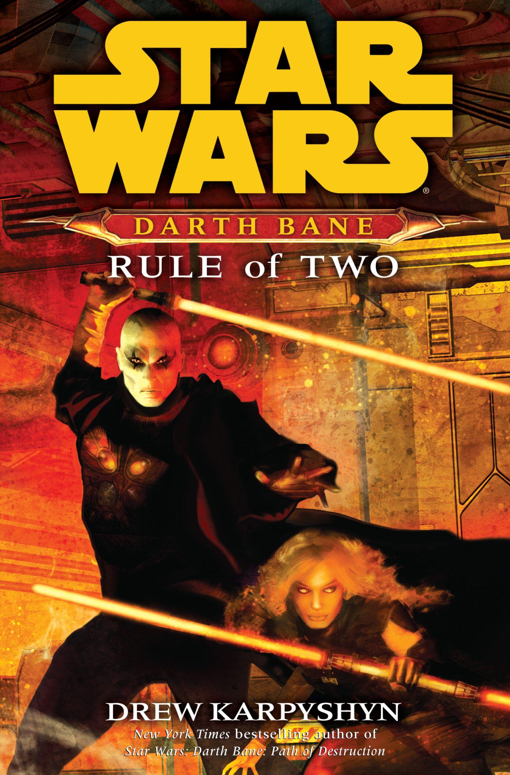 Darth bane rule of two darth bane bane star wars