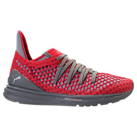 men's ignite limitless netfit casual shoes red  casual