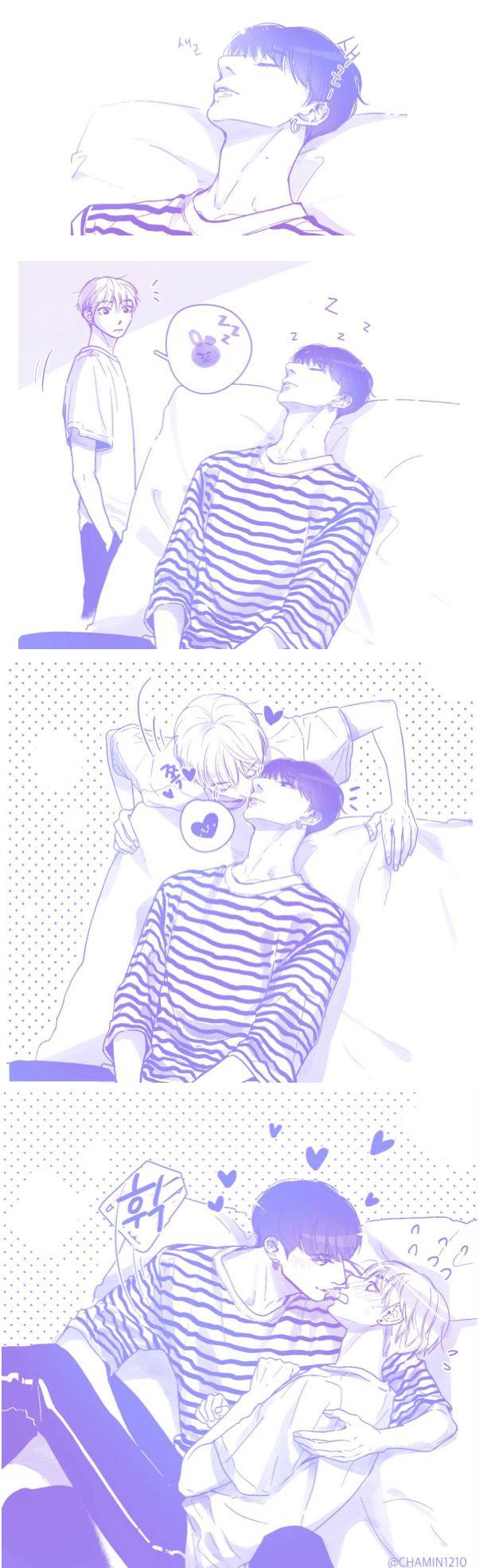Em chèo KookV   Amor gay en 15   Pinterest   Oppas, BTS y Chicos ...