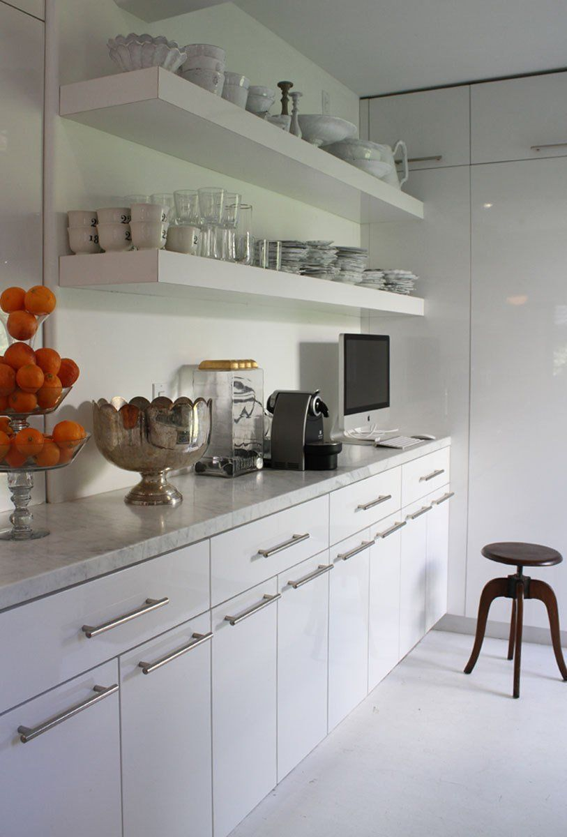 Kathleen Maurizio S Imported Italian Home White Glossy Kitchen Italian Home Antique White Cabinets