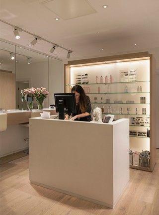 Cosmetics à la Carte | Spa reception, Spa and Reception