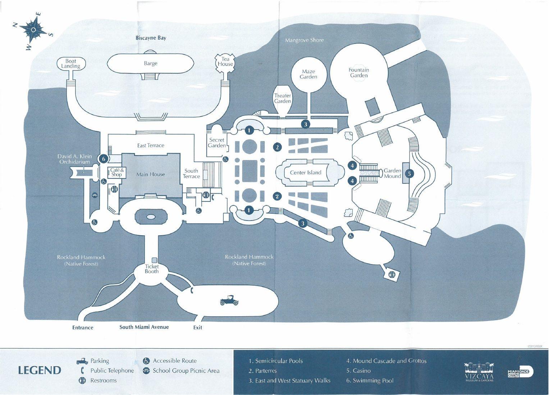 Vizcaya Museum And Gardens Miami Vizcaya Picnic Area American Mansions