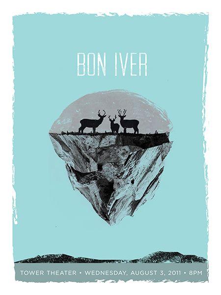 GigPosters.com - Bon Iver