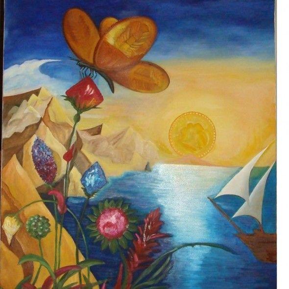 Obra de arte: fortuna Artistas y arte. Artistas de la tierra