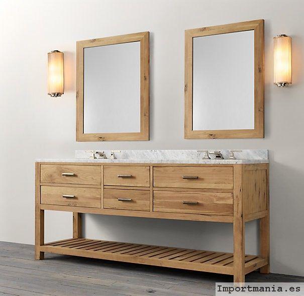 fotos muebles baños en madera | Furniture | Pinterest | Bath