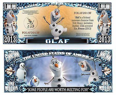 Disney Million Dollar Novelty Money Cinderella