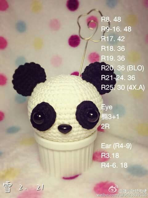 Pin de Kate Katesinee en อื่นๆ | Pinterest | Patrones amigurumi ...