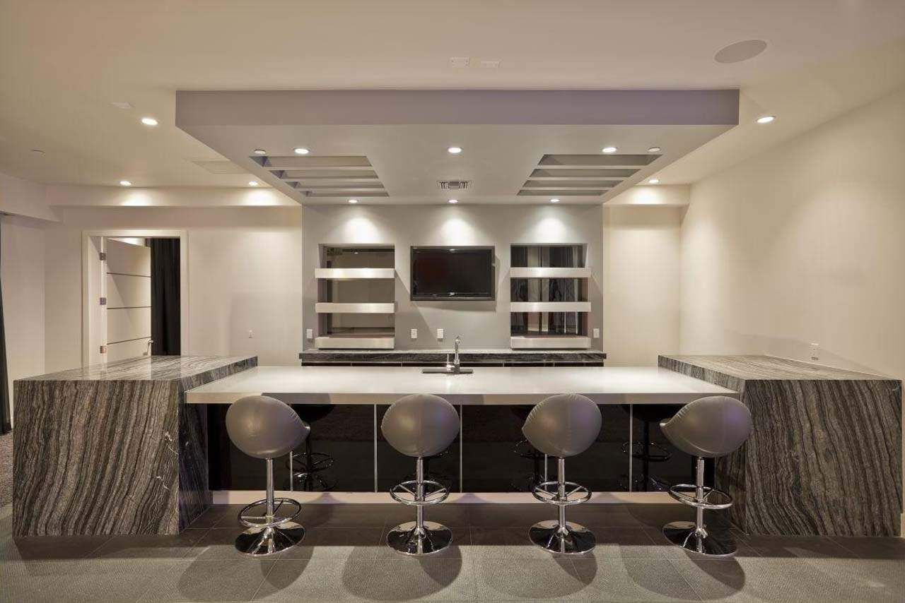 35 best home bar design ideas bar furniture bar and for Modern lounge designs