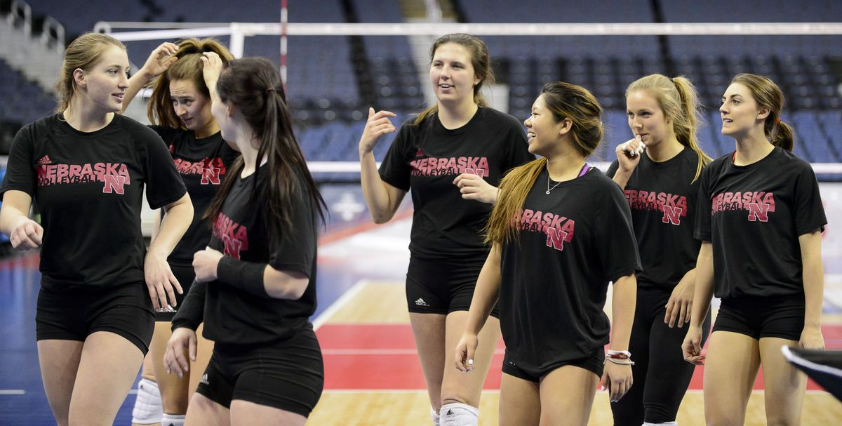 Photos Huskers Ready For The Final Four Final Four Husker Finals