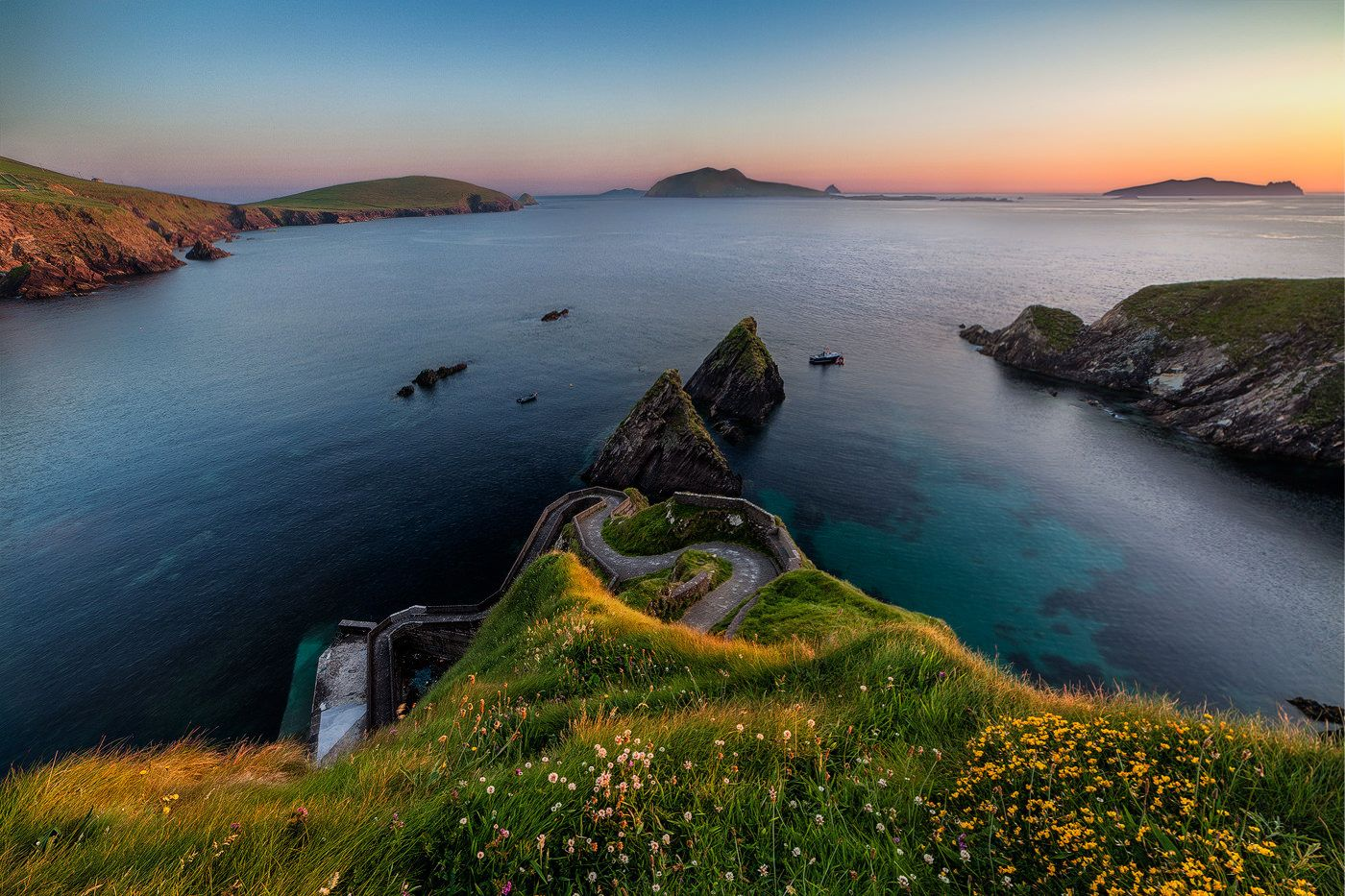 Sunset Of Dunquin Cool Places To Visit Places To Visit Travel