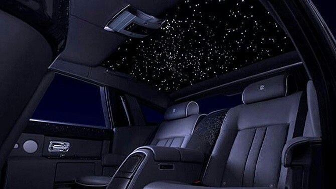 Rolls Royce Wraith Ceiling With Stars Rolls Royce Rolls