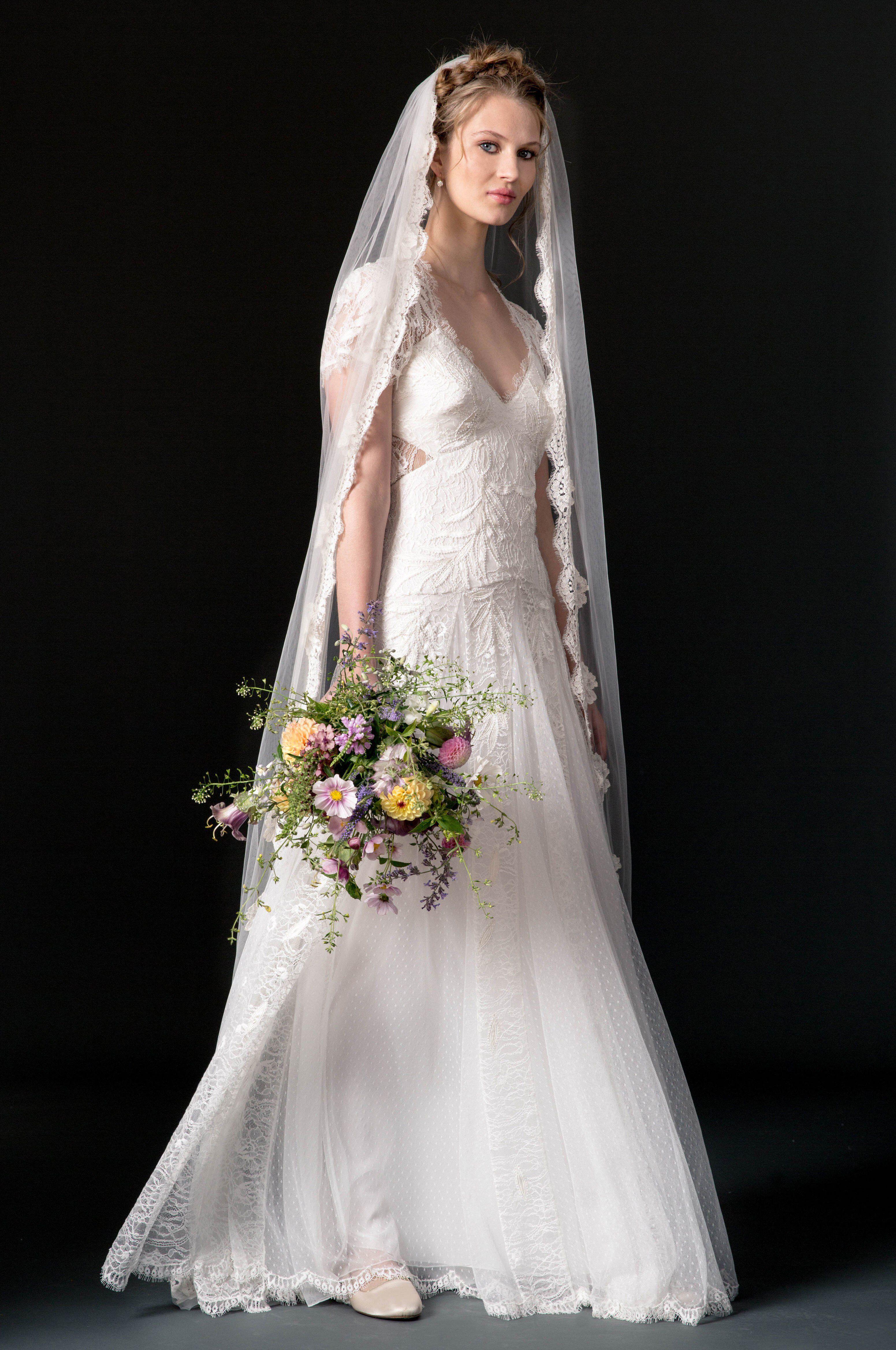 Temperley london bridal fall fashion show collection wedding