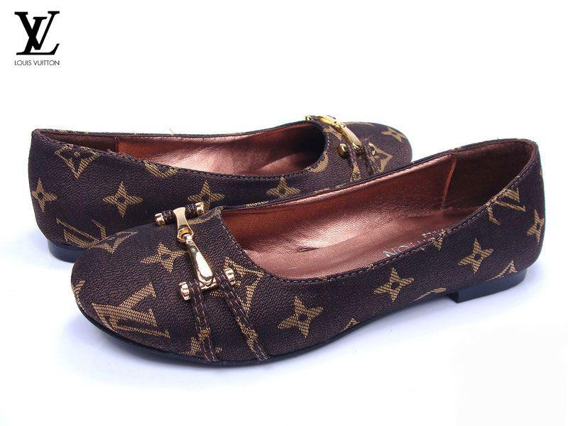 0e168555ea7 Pas Cher Acheter MultiColor Mocassin Ballerines Chaussure Louis Vuitton  Femme - Chaussure Louis Vuitton Femme