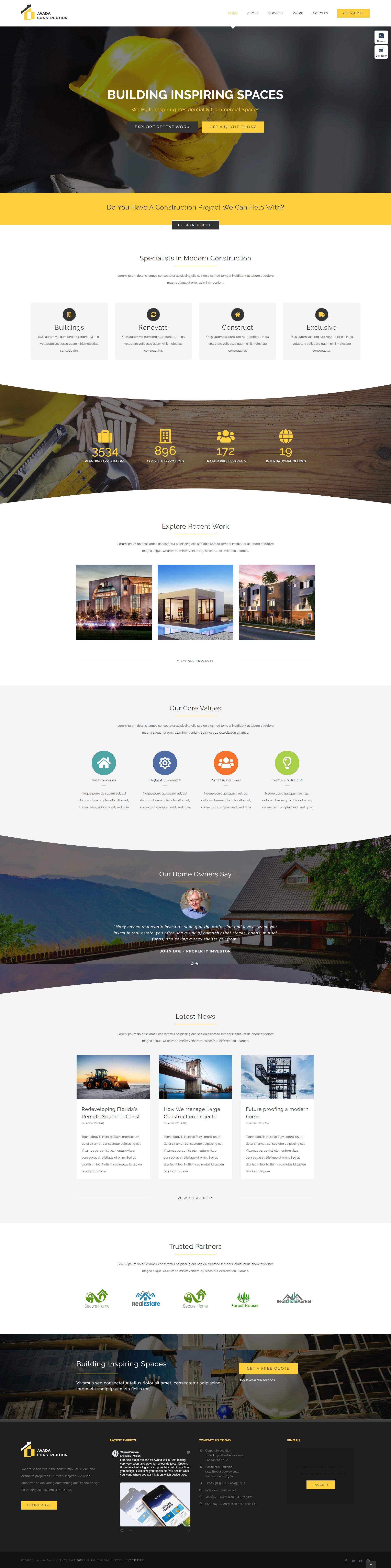 Avada Responsive MultiPurpose Theme Stylelib in 2020