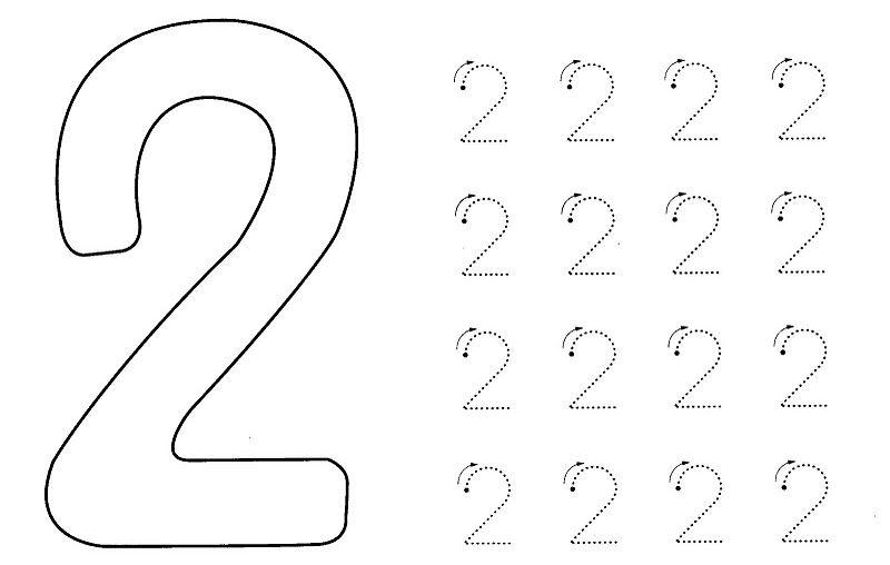 Durante El Mes De Noviembre Vamos A Trabajar La Grafía Del Número 2