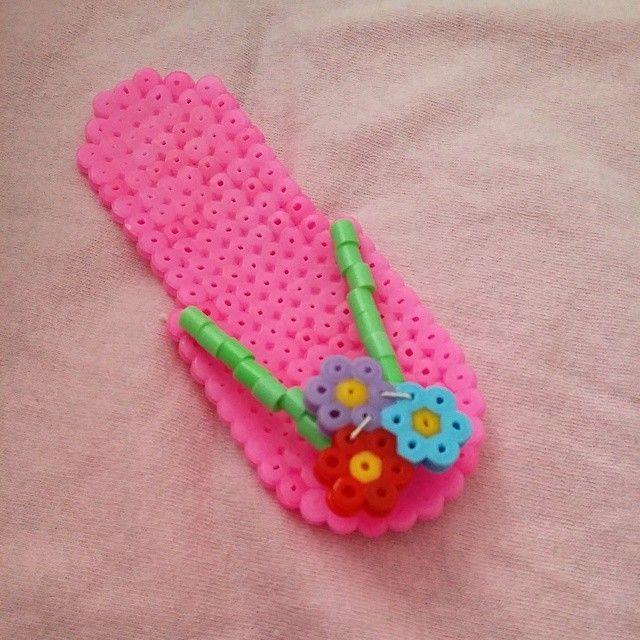 Flip Flop perler beads by missellii