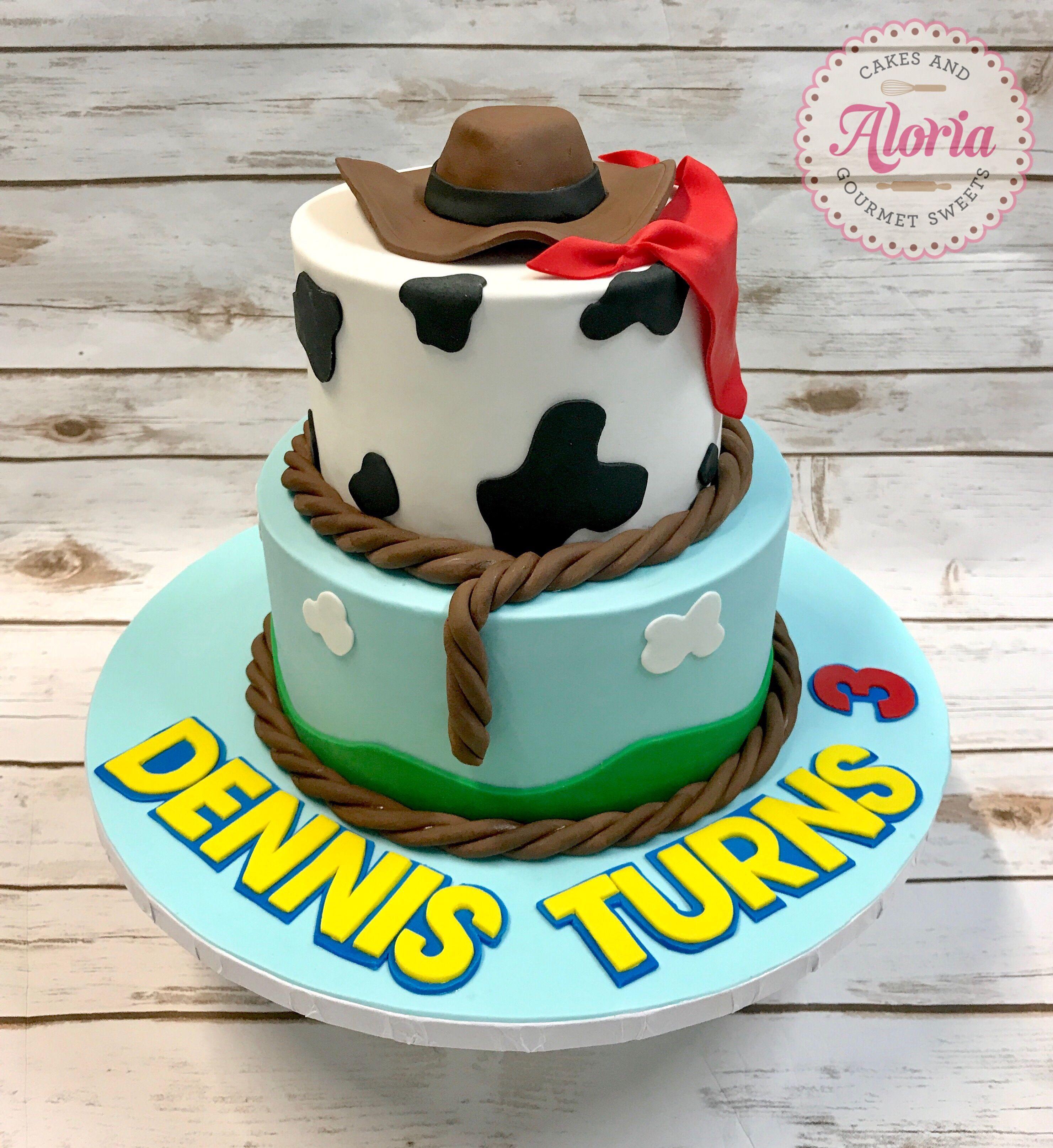 Cowboy Birthday Cake Cowboy Cake Toy Story Cake Toy Story