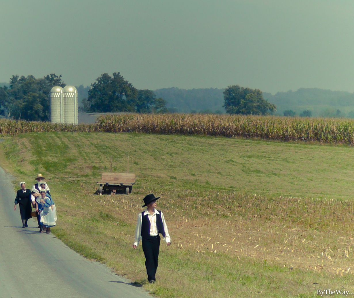 """The Little House on the Prairie""  Amish family in Pennsylvania Dutch Country - Lancaster County, PA"