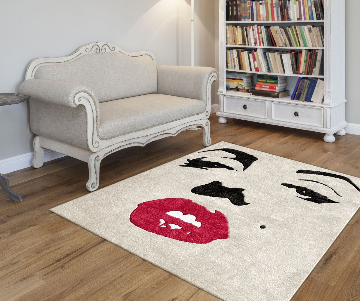 Marilyn monroe french chair - Custom Marilynmonroe Wool Rug