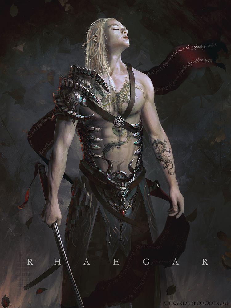 Rhaegar By Lensar On Deviantart Game Of Thrones Art Rhaegar And Lyanna Fantasy Warrior