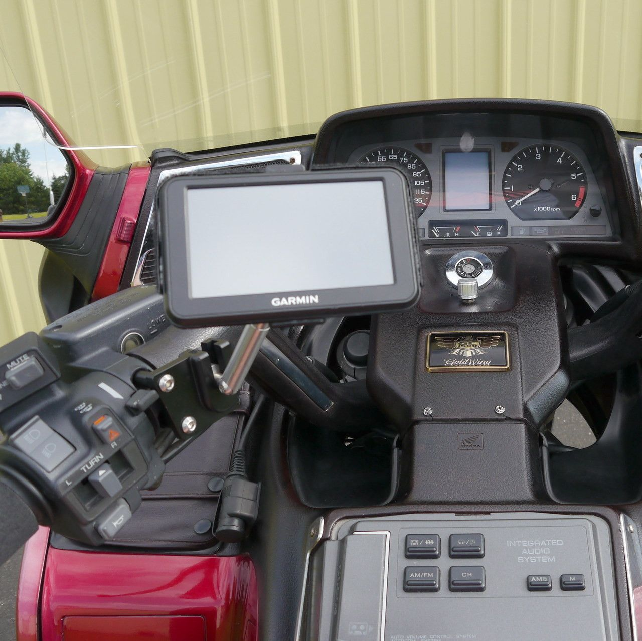 7 Way Navigation 2000 Jeep Wrangler Front Suspension Diagram Ecaddy Gps Ball Mount W Extension Goldwing Brake Clutch