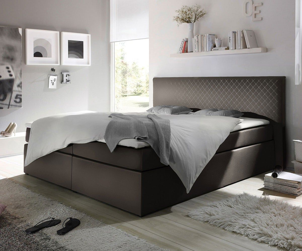 Boxspring Betten Inspiration Möbel Betten Boxspringbetten Delife